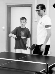 S Knihovnou na turnaj ping-pongu