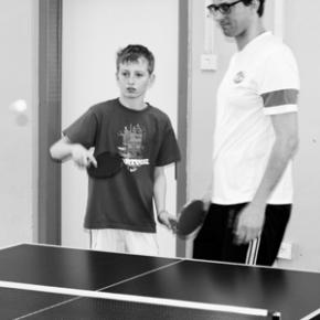 S Knihovnou na turnaj v Ping-Pongu