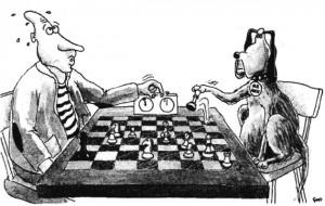 Šachový kroužek v Knihovně Průhonice