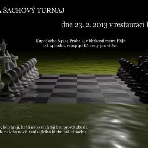 Šachový klub Knihovny Průhonice zve na šachový turnaj!