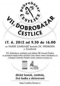 Knihovna zve na Dobrobazar do Čestlic