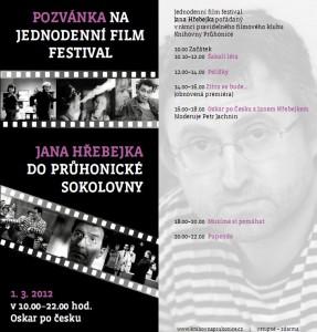 Filmový festival Jana Hřebejka