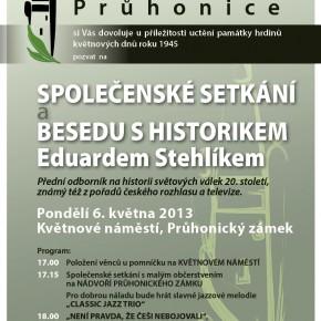 Knihovna zve na setkání s historikem Eduardem Stehlíkem