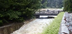 Povodně v Průhonicích