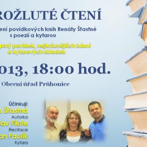 Autorské čtení Knihovny Průhonice na obecním úřadě Průhonice