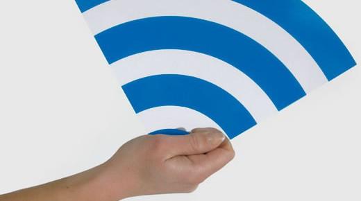 Free wifi v Knihovně a před Knihovnou