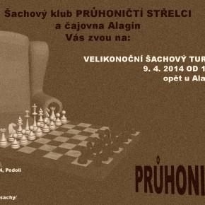 Šachový turnaj Průhoničtí střelci (při Knihovně Průhonice)