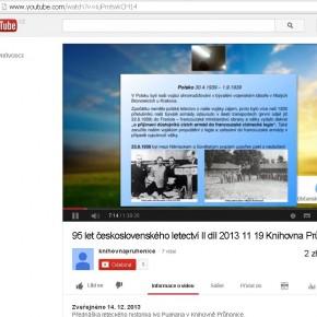 Zprovoznili jsme galerii videí přednášek Knihovny Průhonice na youtube