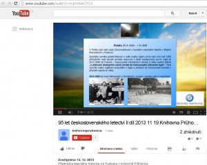 Galerie videí Knihovny Průhonice na youtube